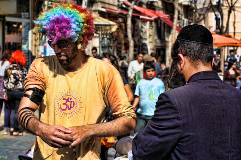 Purim at Ben Yehuda Street